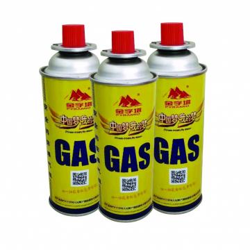 Custom Logo International Standard Butane Gas Cartridge