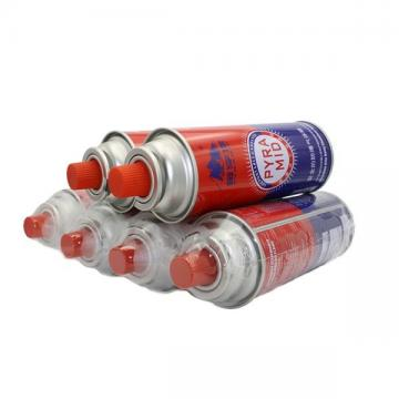 Round Shape Portable Butane Gas Cartridge 250g and Butane Gas Canister for portable stove