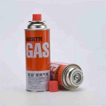 Camping Round Shape Butane Gas Cartridge 220g