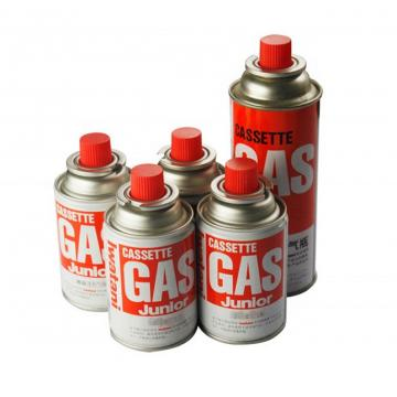 220g slim Portable tin aerosol can and gas cartridge
