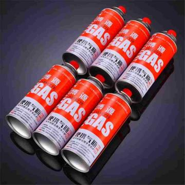 Made in china the empty mint tin butane gas canister and aerosol cans