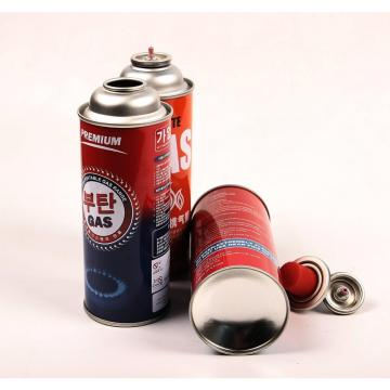 Good price camping gas cartridge camping butane gas metal aerosol bottle