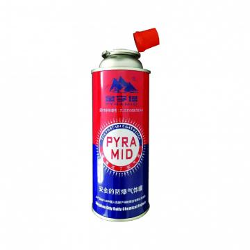 portable stove use High pressure resistance empty butane gas cartridge for camping